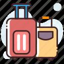 bag, baggage, luggage, luggage bag, travel bag