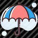 beach umbrella, canopy, parasol, sunshade, umbrella