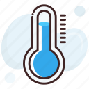 climate, temperature, temperature scale, thermometer, weather icon
