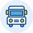 bus, holiday, travel, trip icon