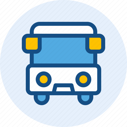 bus, holiday, travel, trip icon