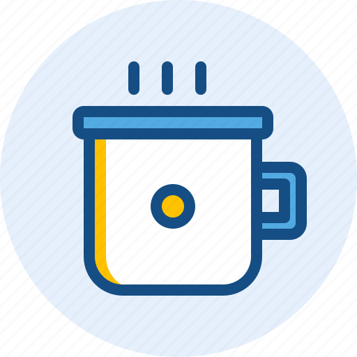 coffee, cup, holiday, of, travel, trip icon