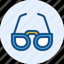 eyeglasses, holiday, travel, trip icon