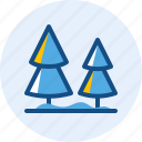 holiday, pine, travel, trip icon
