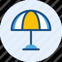 holiday, travel, trip, umbrella icon