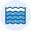 holiday, travel, trip, wave icon