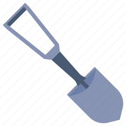 construction, gardening, shovel, tool icon