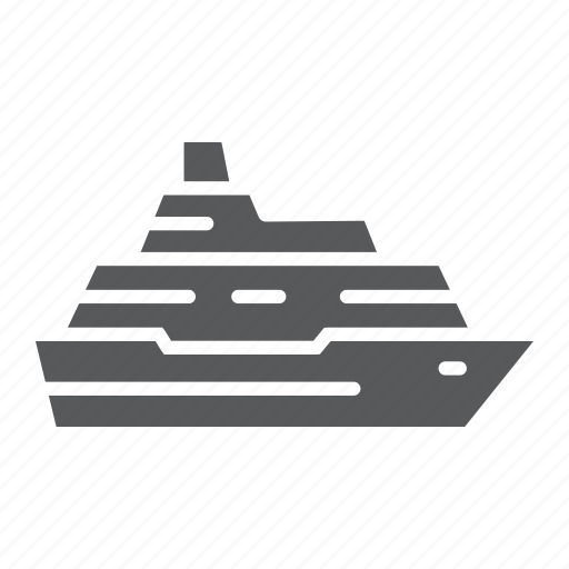 Boat, cruise, ocean, ship, tourism, transport, travel icon - Download on Iconfinder