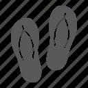beach, flip, flops, footwear, slippers, tourism, travel