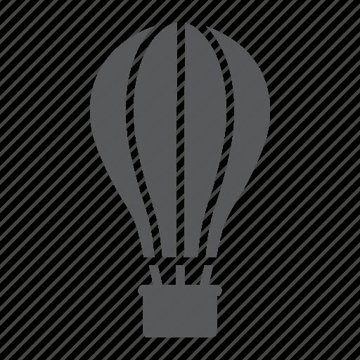 air, airship, balloon, hot, sky, tourism, travel icon