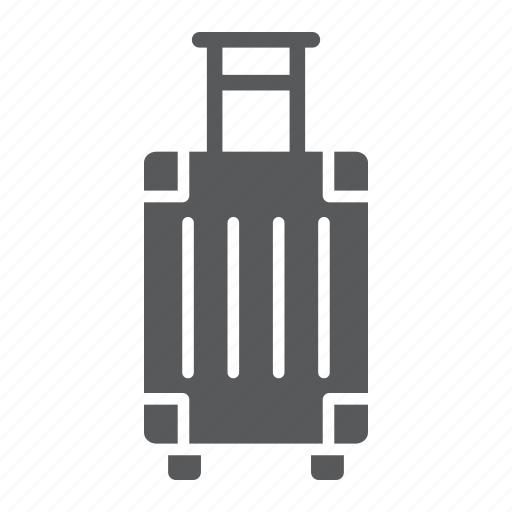 Bag, baggage, handle, luggage, suitcase, tourism, travel icon - Download on Iconfinder