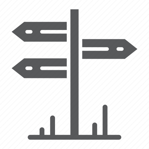 arrow, direction, guidepost, information, signpost, tourism, travel icon