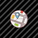 map, location, gps, pin, marker