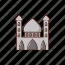 mosque, landmark, building, vacation, religious
