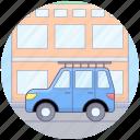 automobile, cab, car, sedan, taxi, transport, travel icon