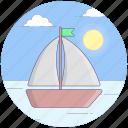 boat, dock, ship, watercraft, yacht icon