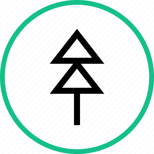 Outdoors, pine, travel, tree, vacation icon - Download on Iconfinder
