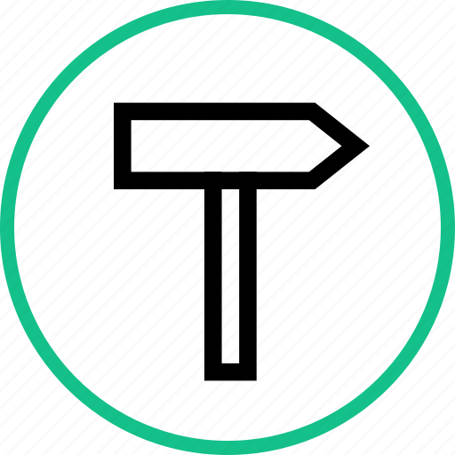 Outdoors, road, sign, travel, vacation icon - Download on Iconfinder