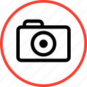 camera, digital, outdoors, travel, vacation icon