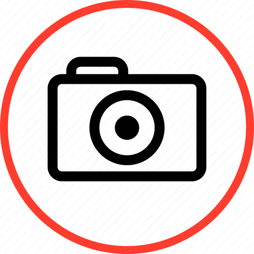 Camera, digital, outdoors, travel, vacation icon - Download on Iconfinder
