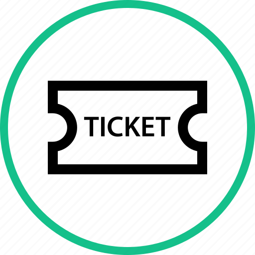 event, outdoors, ticket, travel, vacation icon