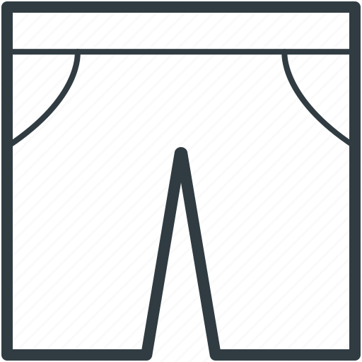 apparel, clothes, clothing, fashion, outerwear, pajama, pant, trouser icon