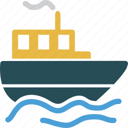 ship, shipping, travel, traveling icon