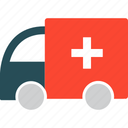 ambulance, healthcare, hospital, medical transport icon