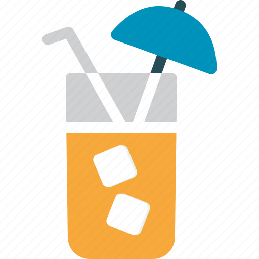 cocktail, cold drink, drink, summer drink icon