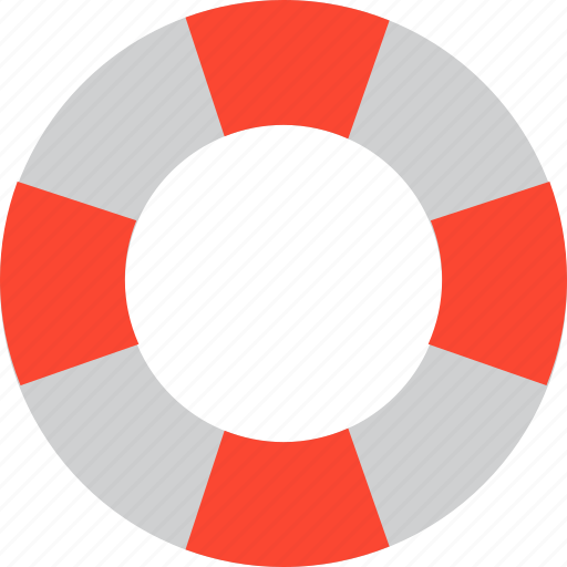 lifebelt, lifebuoy, lifeguard, lifesaver icon