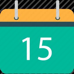 calendar, dat, day, schedule icon