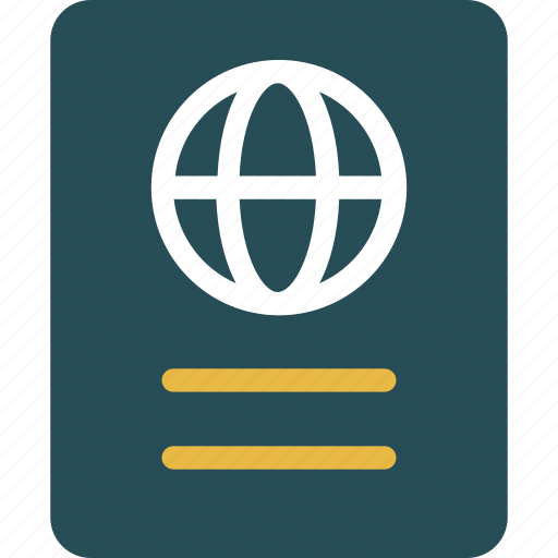 id, pass, passport, travel icon