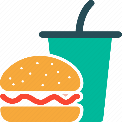 icon food drink beverage fast burger junk icons breakfast 512px drinks