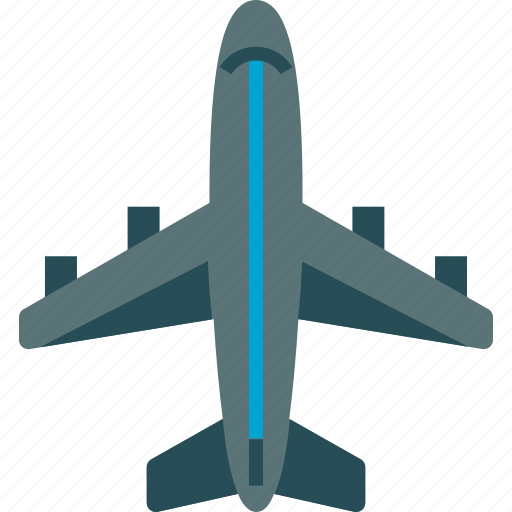 air plane, airliner, flight, plane icon