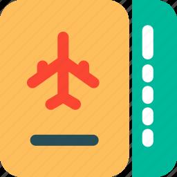 air ticket, flight, ticket, travel icon