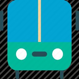 bus, coach, omnibus, travel icon