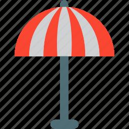 cafe umbrella, garden umbrella, sun ranger, umbrella icon