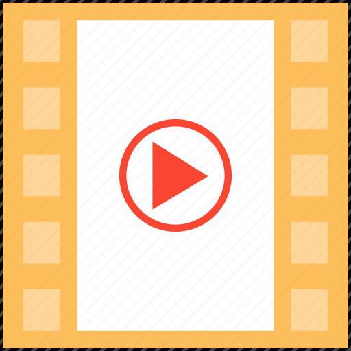 cinema, film, media, movie icon