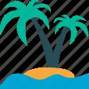 palmtree, travel, tropical, vacation
