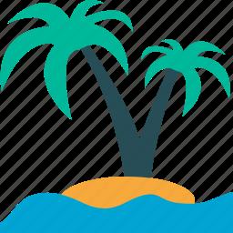 palmtree, travel, tropical, vacation icon