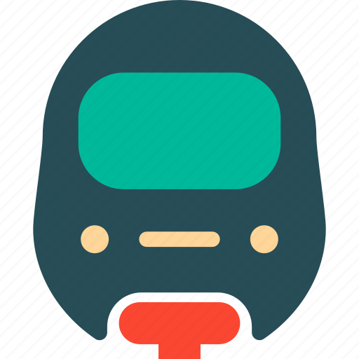 train, tram, transport, travel icon