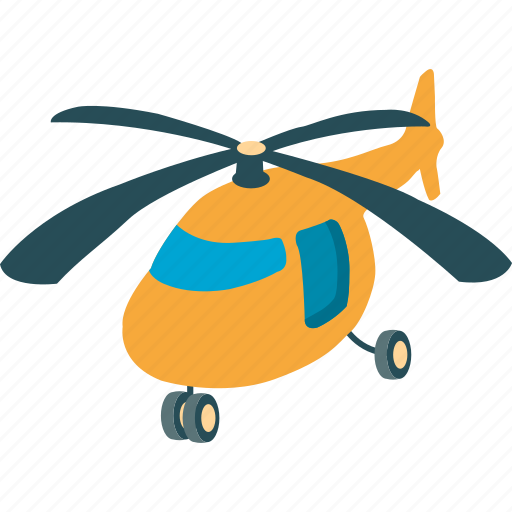 chopper, copter, flying, helicopter icon