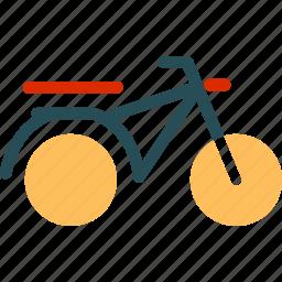 bike, motorbike, scooter, travel icon