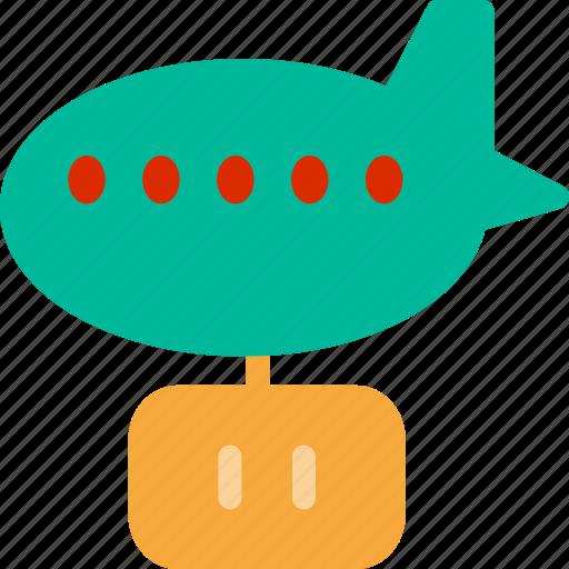 rigid airship, steam punk, steampunk zeppelin, zeppelin icon