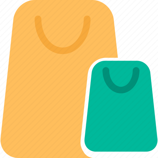 bags, shoppers, shopping, shopping bags icon