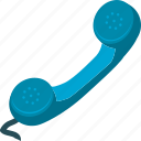 call, communication, phone receiver, telephone icon