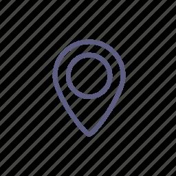 destination, label, mark, marker, sticker, tag, targe icon