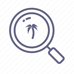 increase, look, loupe, magnifier, quest, scan, search icon