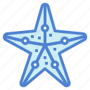 aquarium, life, ocean, sea, starfish icon