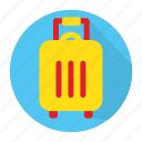 bag, holiday, journey, tourism, traveling icon